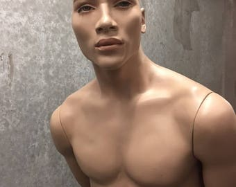 SOLD  Male from Rootstein mannequins - Arm and a Leg mannequins
