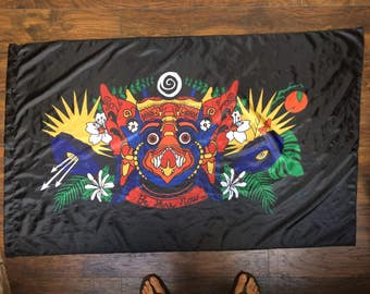 Okeechobee 2017 Protector of the portal flag