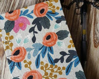 Rifle Paper Co Fabric Covered Journal