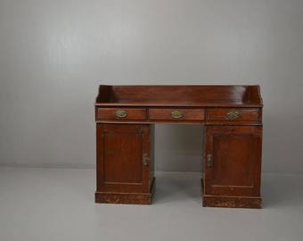 Antique Stained Pine Washstand