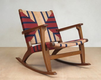Accent Chair Leather Mid Century Modern Lounge Chair