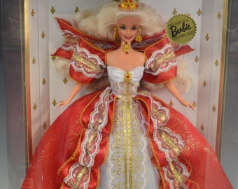 New Happy Holidays 1997 Special Edition Barbie/ White Hair