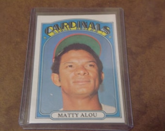 1972 Topps Matty Alou #395/ Mint