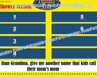 christmas family feud trivia powerpoint game mac and pc, Powerpoint templates