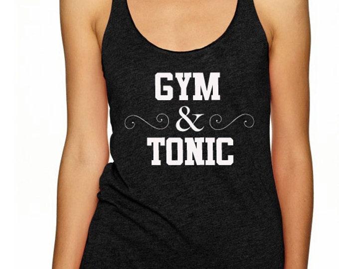 Gym & Tonic Racerback Tank Top