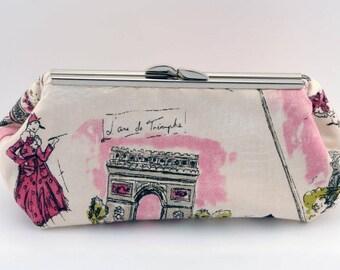 A Day In Paris Clutch