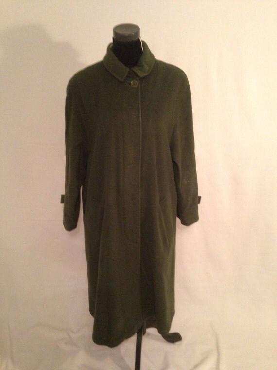 SCHNEIDERS Salzburg green Duffle Coat Long coat size 42