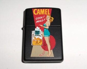 Zippo 1997 Camel Girl Lighter