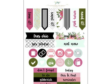 Rosy Posy Icons and Headers