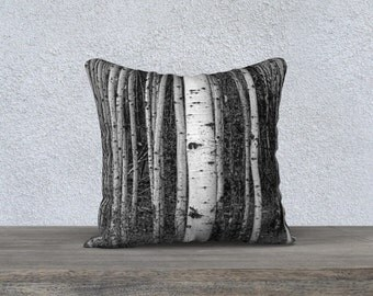 """Aspen Trees Photographic Pillow (18"""" x 18"""" and 22"""" x 22"""")"""