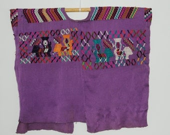 Guatemalan Maya Huipil Shirt Chajul Quiche Womens Hand Crafted Traditional Authentic