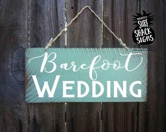 beach wedding, beach wedding decor, beach wedding signs, barefoot wedding sign, barefoot wedding, beach wedding sandals, beach barefoot