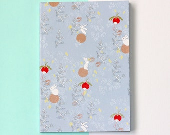 Woodland Rabbits A6 Notebook