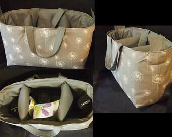 Camera bag insert / Made for Canon Nikon Olympus Sony / Handles / Camera case / Dslr camera bag / Camera insert 13x5x7 / Camera purse insert