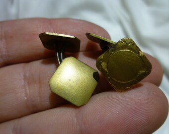 C58 Vintage S & S Gold Filled Cuff-Links.