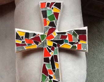 Medium mosaic cross