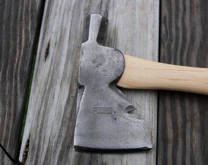 Plumb hatchet