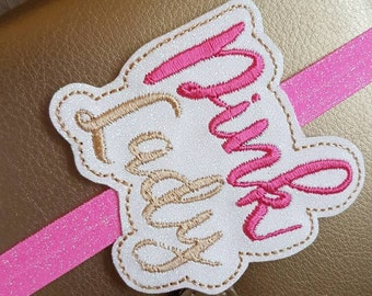Pink Lady Planner Band