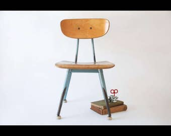 Mid Century Burch-Ply American Seating Classmate Chair - Quantity Available