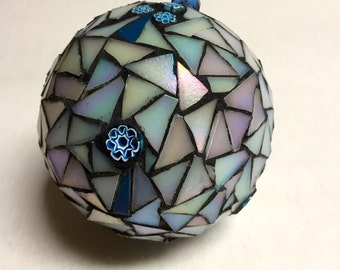 Unique stained-glass ornament