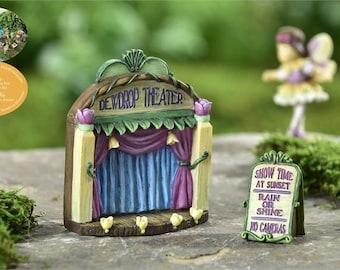 Fairy Garden  - Fairytale Stage & Theater Sign - Miniature