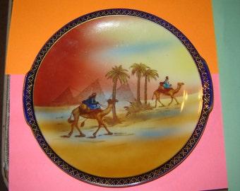 Victoria China Czechoslovakia Egypt cabinet plate