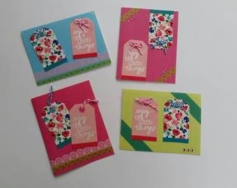 Enjoy The Little Things Card Set