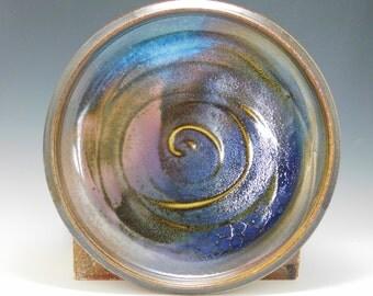 "Decorative Plate, Wheel Thrown Stoneware 1.25""x11.5""x11.5"""