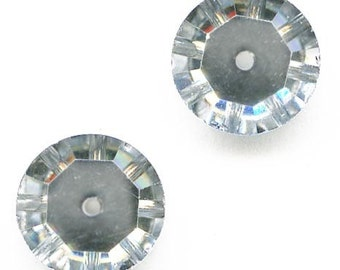 Vintage Swarovski comet argent light, Article 3000 10mm pkg of 2. b11-cr-0541(e)
