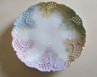PASTEL PAINTED PLATE