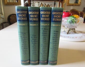 FOUR BOOKS ENTITLED Greatest Short Stories