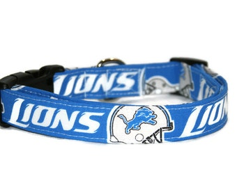 Detroit Lions Dog Collar