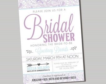 Bridal Shower - Printable Digital File