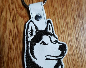 Husky Key Chain (Reduced Price! Slightly Imperfect!)