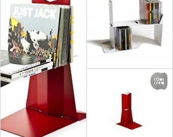 DIVIDENDO - Bookend, rationelle, CDs holder (Caoscreo)