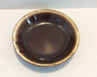 Vintage USA Brown Drip Bowl