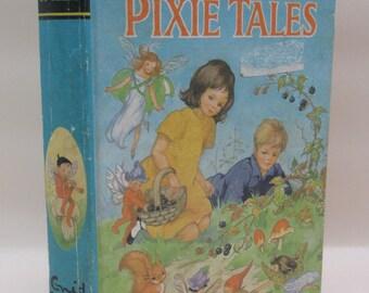 Vintage 1970s Children's Book - Pixie Tales by Enid Blyton