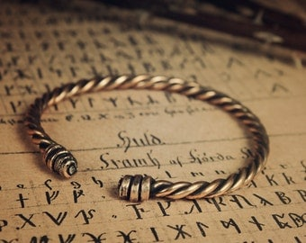 Viking oath bracelet • Viking arm ring • Viking jewelry • Celtic cuff • Viking cuff • Nordic jewelry • Viking torc • Torc bracelet • Torque