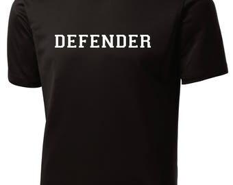 Soccer Position Shirt: Striker, Forward, Keeper, Goalie, Defender or Midfielder