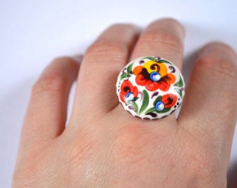 beautiful jewelry adjustable ring gift|for|girls birthday gift|for|women jewelry rainbow lgbt jewelry multi-colored eco Colorful jewelry Art