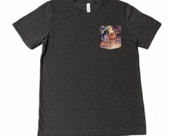 Piet Mondrian Pocket Shirt