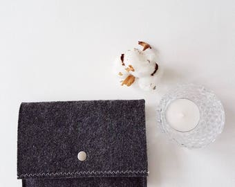 Wallet | Wallets for women | Ladies wallet | Felt wallet | Travel wallet | Card holder wallet | Felt | Shop | ANISEnl | Coin Wallet