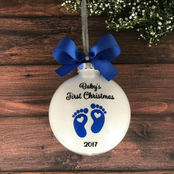 Baptism Ornament Christmas Ornament Personalized Baby: Personalized Baby Ornament Baby Christmas Ornament Babys