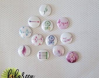 "Badge Kit badges April 2017-1 """