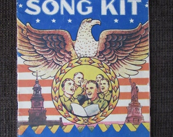 Vintage America's Song Kit Song Book Sheet Music 1941 Free Shipping