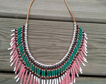 NAVAJO INDIAN style NECKLACE