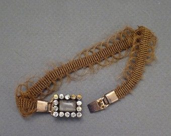 Georgian Hair Bracelet c1830 American