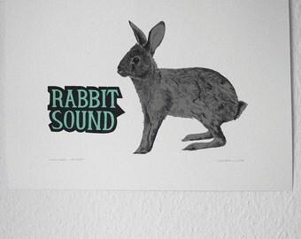 Animal Sounds - The Rabbit - Dark Grey/Green