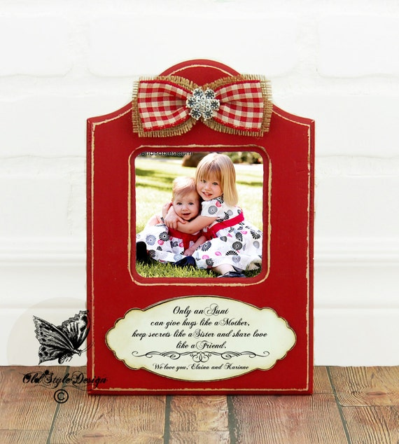 Christmas Gifts For Nephew And Niece: Aunt Christmas Gift Personalized Picture By