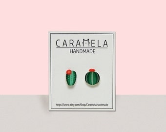 Cactus Earrings Cactus Jewelry Gift For Her